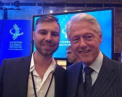 Bryan Miller and Bill Clinton thumbnail