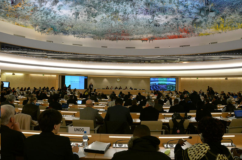 UN Human Rights Council Meeting