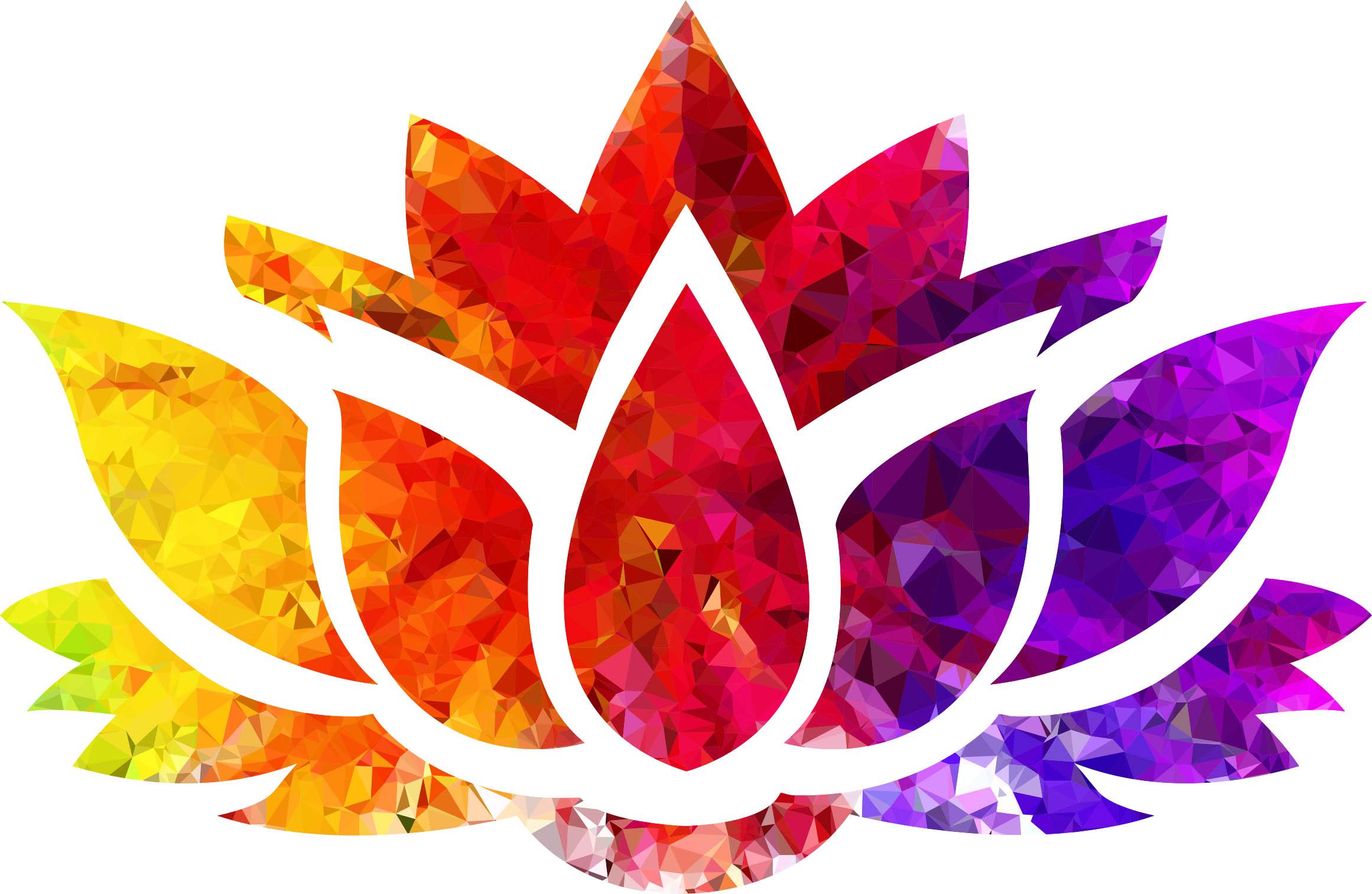 Topaz Ruby Sapphire Lotus Flower Silhouette Copy Icaad