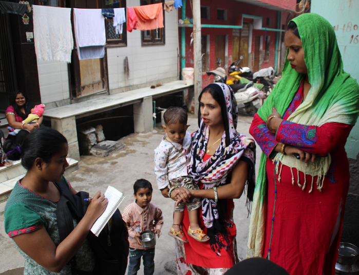 community paralegals in delhi