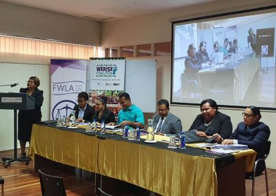 TrackGBV at the Fiji Women's Law Association Continuing Legal Education Workshop
